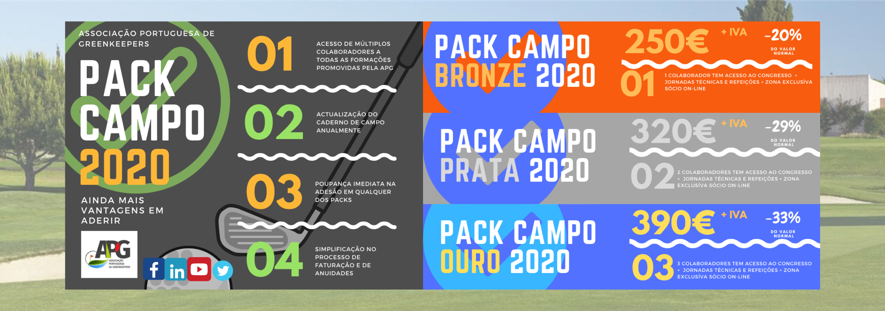 Pack Campo 2020